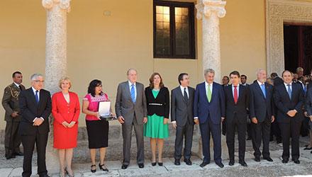 Entre del premio en la edición del 2013