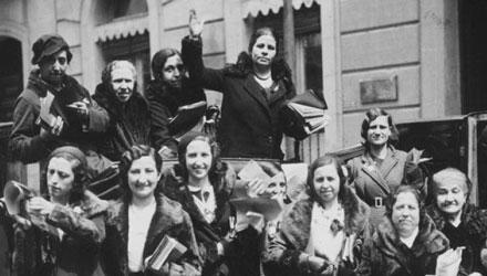Mujeres en lucha por sus derechos