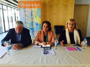 Juan Andres Tovar, Mª Antonia Naharro y Ángeles Sepúlveda