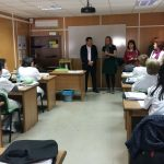 Aula - Visita Presidenta FEUP a Calzada de Calatrava