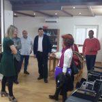 Centro - Visita Presidenta FEUP a Calzada de Calatrava