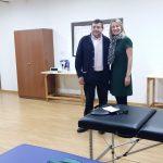Visita Presidenta FEUP a Calzada de Calatrava