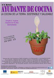 Up Andora: Programa Sara Curso Ayudante de Cocina