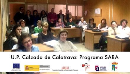 UP Calzada de Calatrava: Programa SARA