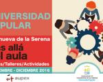 UP Villanueva de la Serena. Cursos septiembre-diciembre 2016